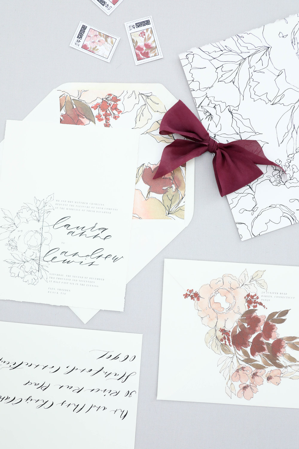Design House of Moira | Winter Wedding Invitations