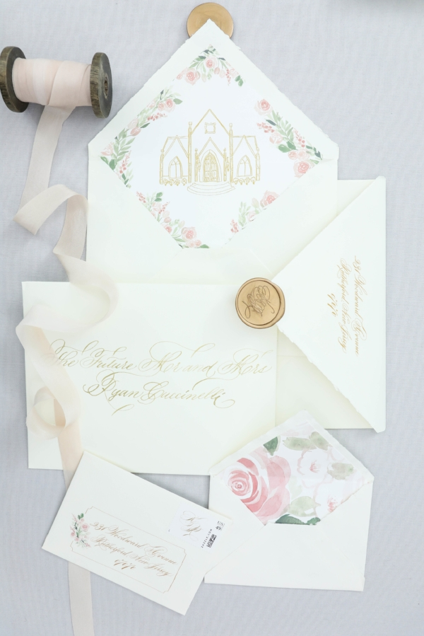 Kaitlin & Ryan - an elegant and refined affair, with romantic touches and personalized details.