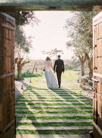 Kristen & Sean  - A gorgeous destination wedding on the sands of Portugal....Featured on Carats & Cake