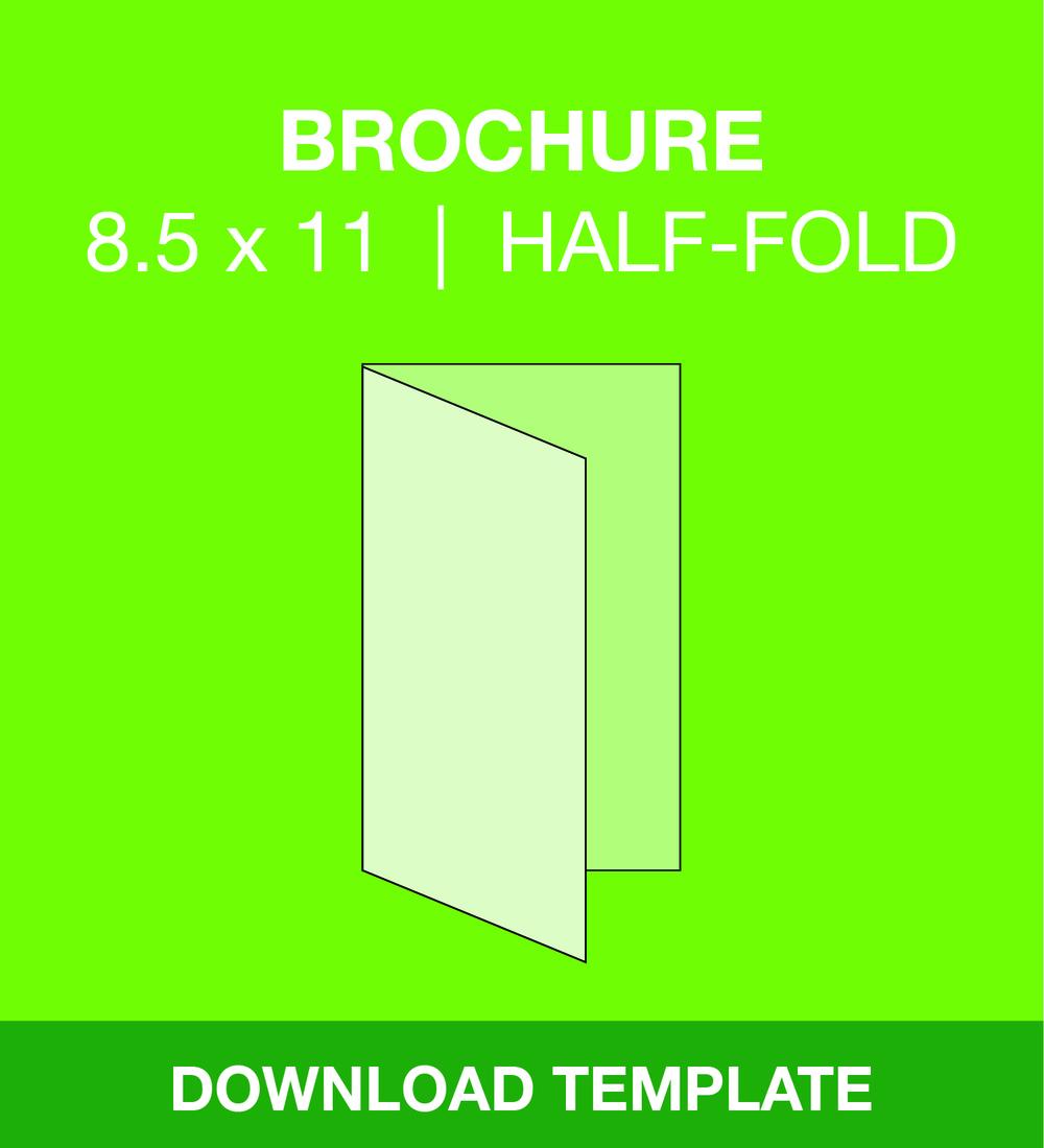 Brochure half fold