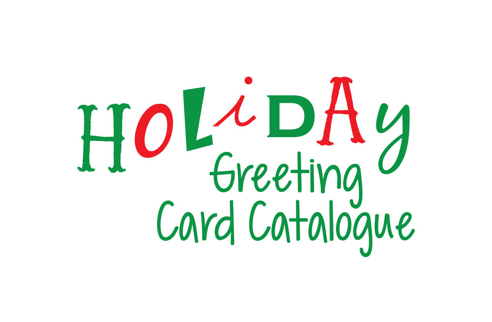 holiday greeting card catalogue