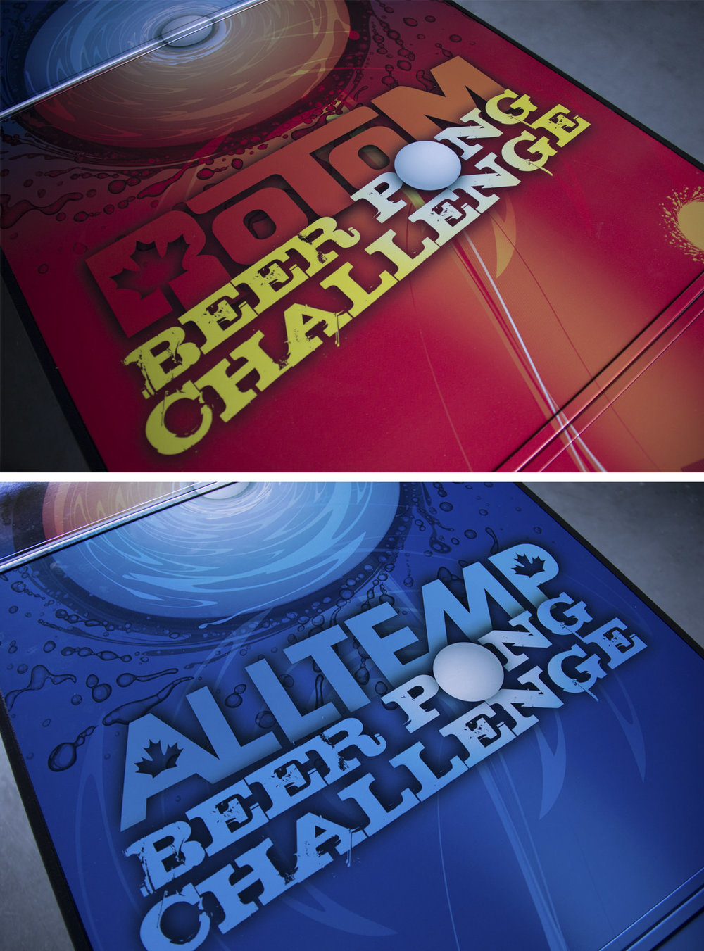 BEER PONG TABLE GRAPHICS