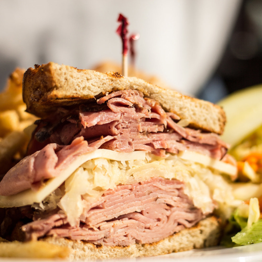 FOOD PHOTOGRAPHY REUBEN SANDWICH