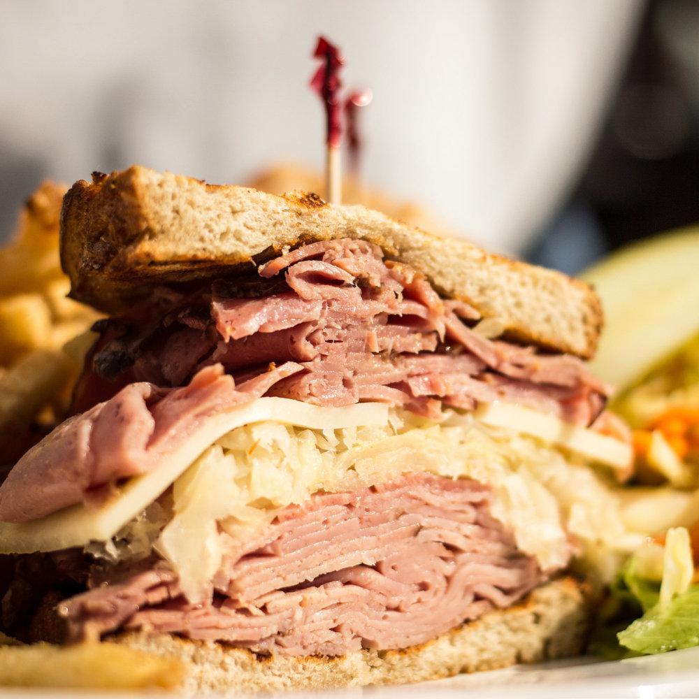 FOOD PHOTOGRAPHY REUBEN SANDWICH