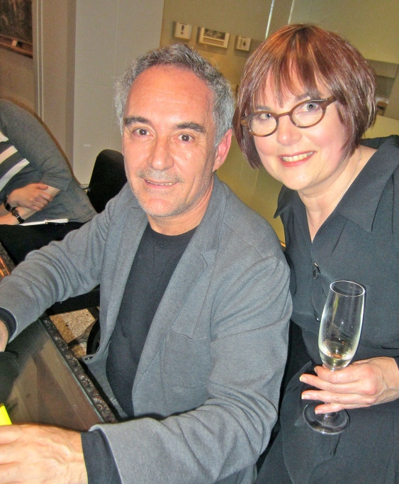 Barbara Jo welcomed a capacity crowd who shelled out $700 to hear from and meet culinary icon Ferran Adrià, of elBulli, widely regarded as the world's best restaurant until its closure in 2011.