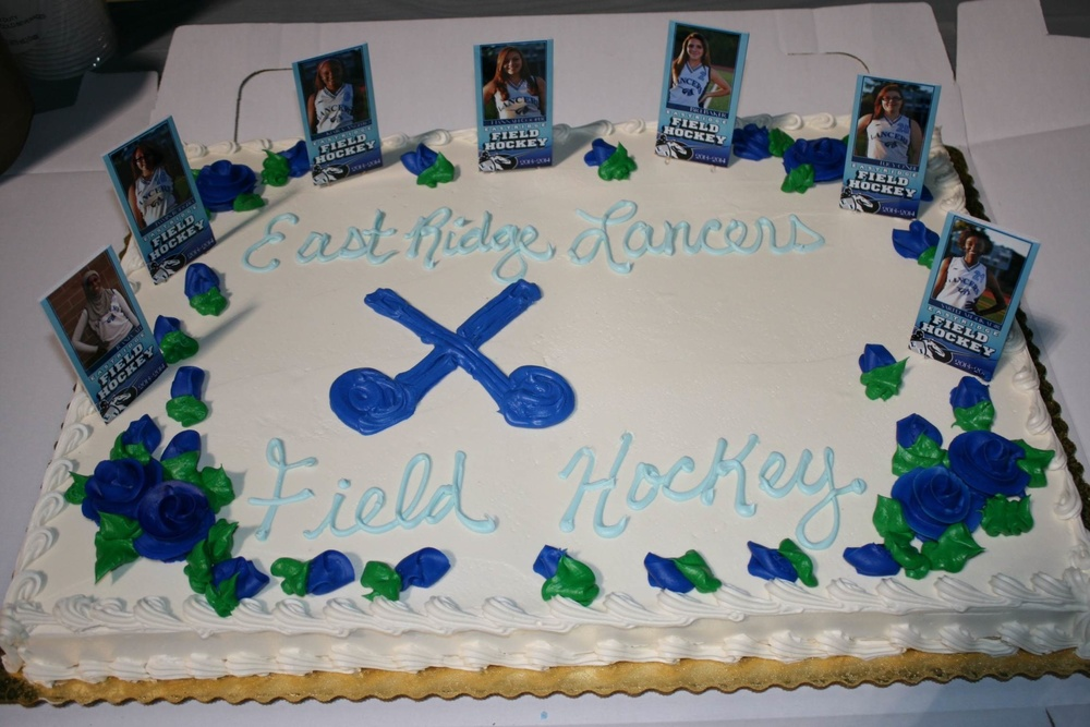 A beautiful and delicious cake celebrating our seniors.
