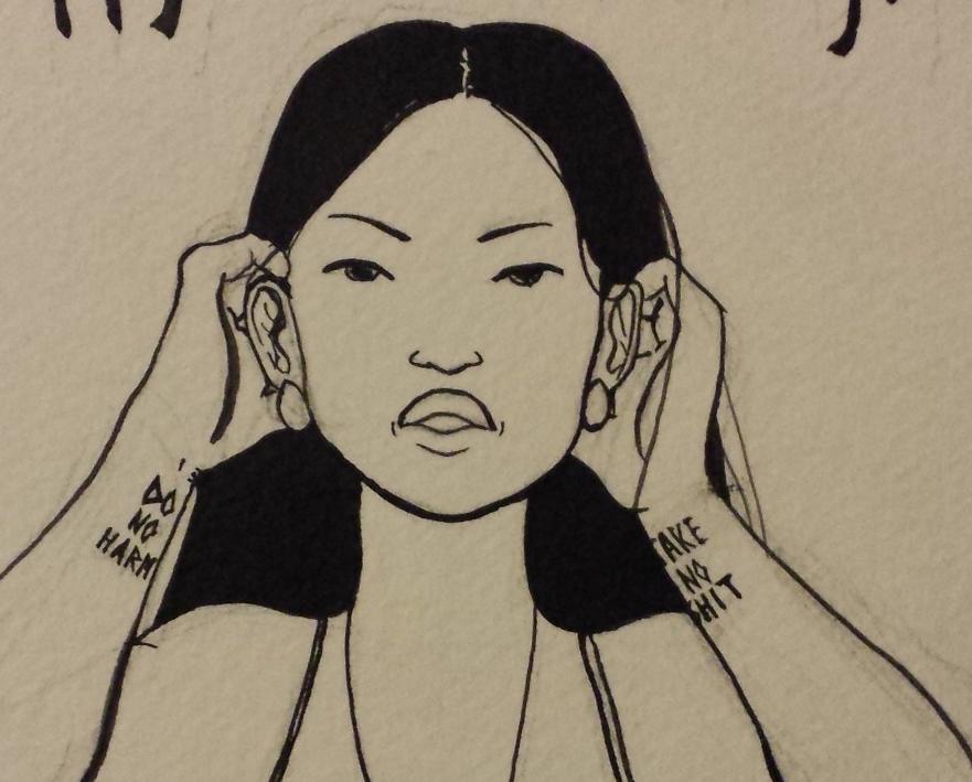 """""""Pocahontas"""" inks"""