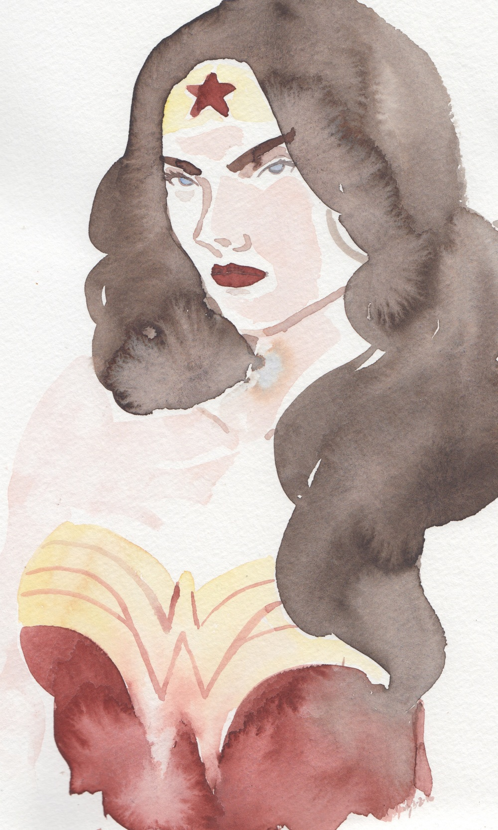 Part 3 of a triptych: Wonder Woman doesn't like your sass.