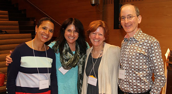 Pictured: Nina Crews, Laura Vaccaro Seeger, Jennifer M. Brown, Paul Zelinsky