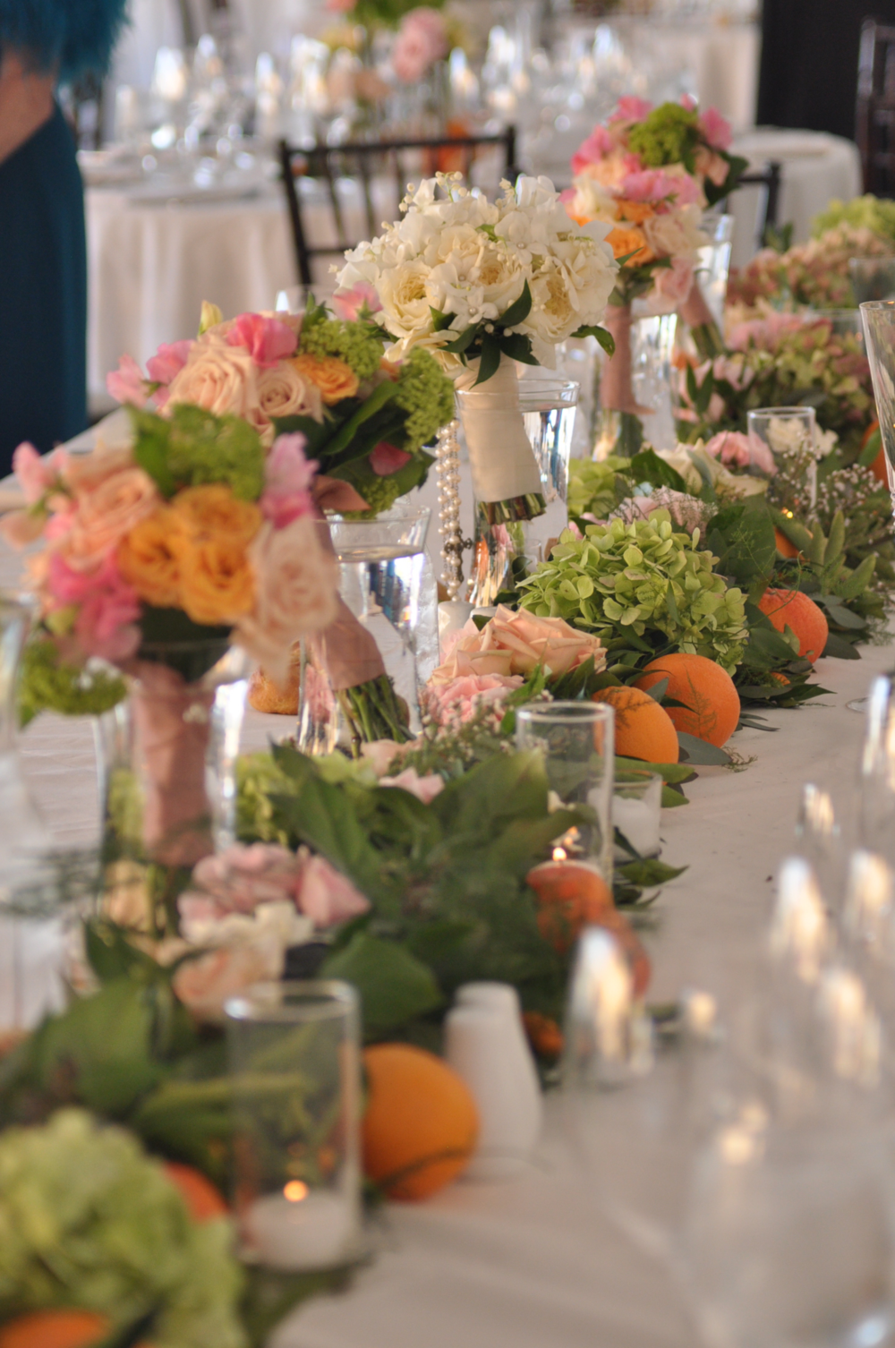 Photo by: Cheryl Mestmaker Photography  Event Design, Production and Custom Floral by: Flourishing Art