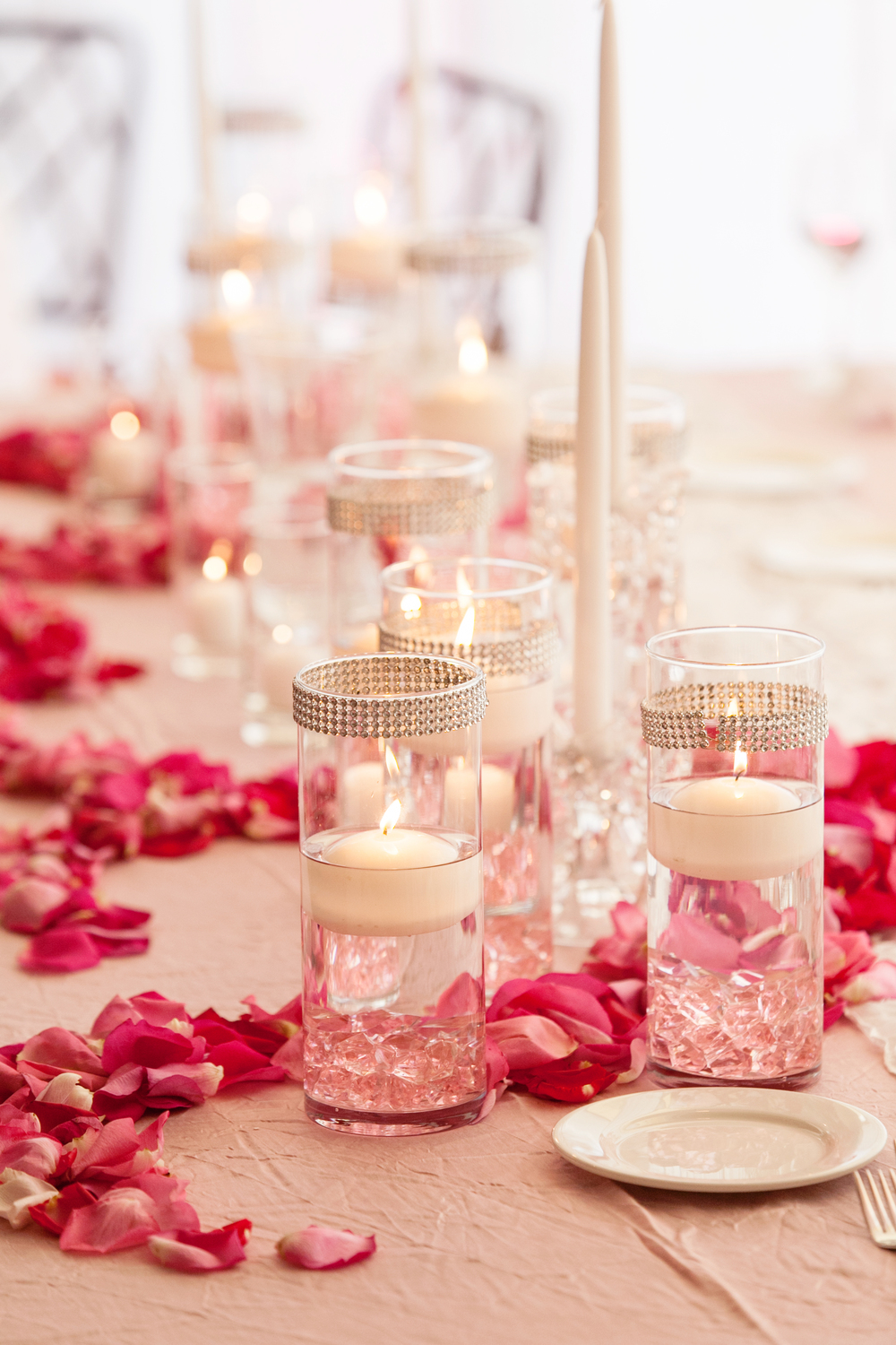 Photo by: Sherri J Photography  Event Design, Production and Custom Floral by: Flourishing Art