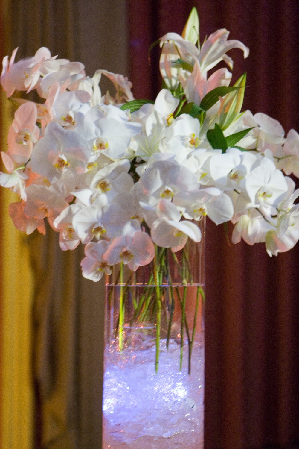 Photo by: Frankly Yours  Event Design,Production and Custom Floral by: Flourishing Art