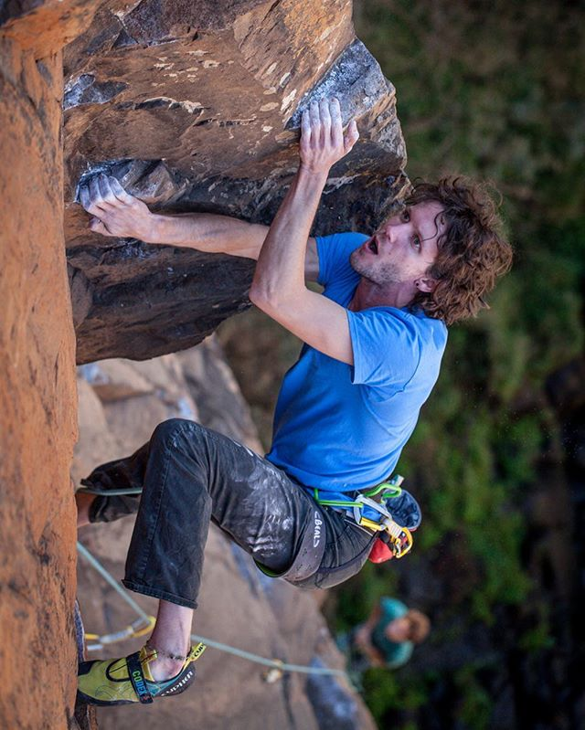 Ambassador @brendanleader recently returned from an amazing trip to Waterval Boven, South Africa. Stay tuned for a full trip report and more shots of this climbing paradise. . . . 📷: @rocnrope_gus . . . #Cypherclimbing #climbing #rockclimbing #sportclimbing  #climb #southafrica #cypherambassador #watervalboven