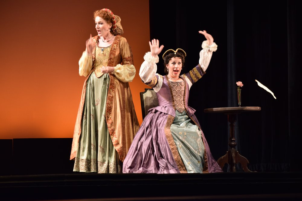 As Mistress Page in Nicolai's The Merry Wives of Windsor