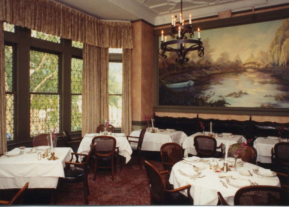 The Chez Paul Room at Chez Paul Restaurant