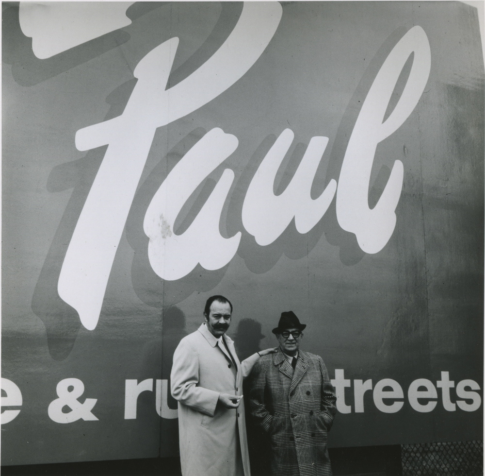 My father Bill and my Grandfather Paul