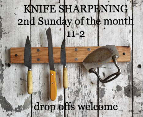 knife sharpening bring in your dull knives chef contos kitchen store. Black Bedroom Furniture Sets. Home Design Ideas