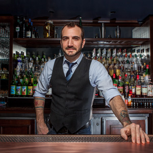 Charles Joly Mixologist, Beverage Director at the Aviary & Founder of Crafthouse Cocktails