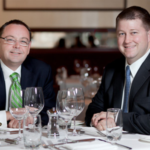 David Flom & Matt Moore  Managing Partners of Chicago Cut Steakhouse