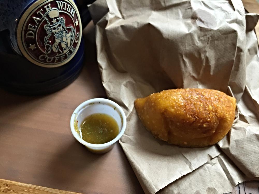 Empanadas from El Mercado