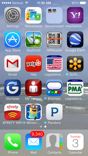 An icon can be saved to the home screen of your mobile device for ease of access.