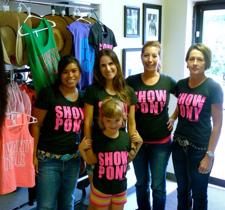 Loved the girls at TackNTow and Mane Monogram!