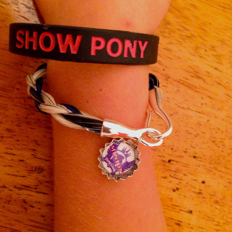 Love the PG Minion charm touch...looks good with our Show Pony bracelet!