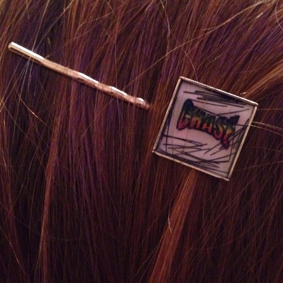 Chase hair pin!