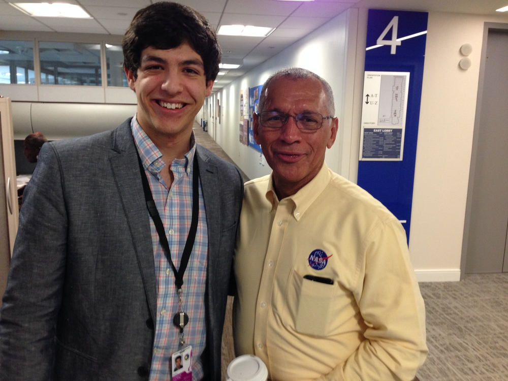 Founder of the GSCSS, C. Hans Culton, with NASA Administrator Charles Bolden at NASA Headquarters