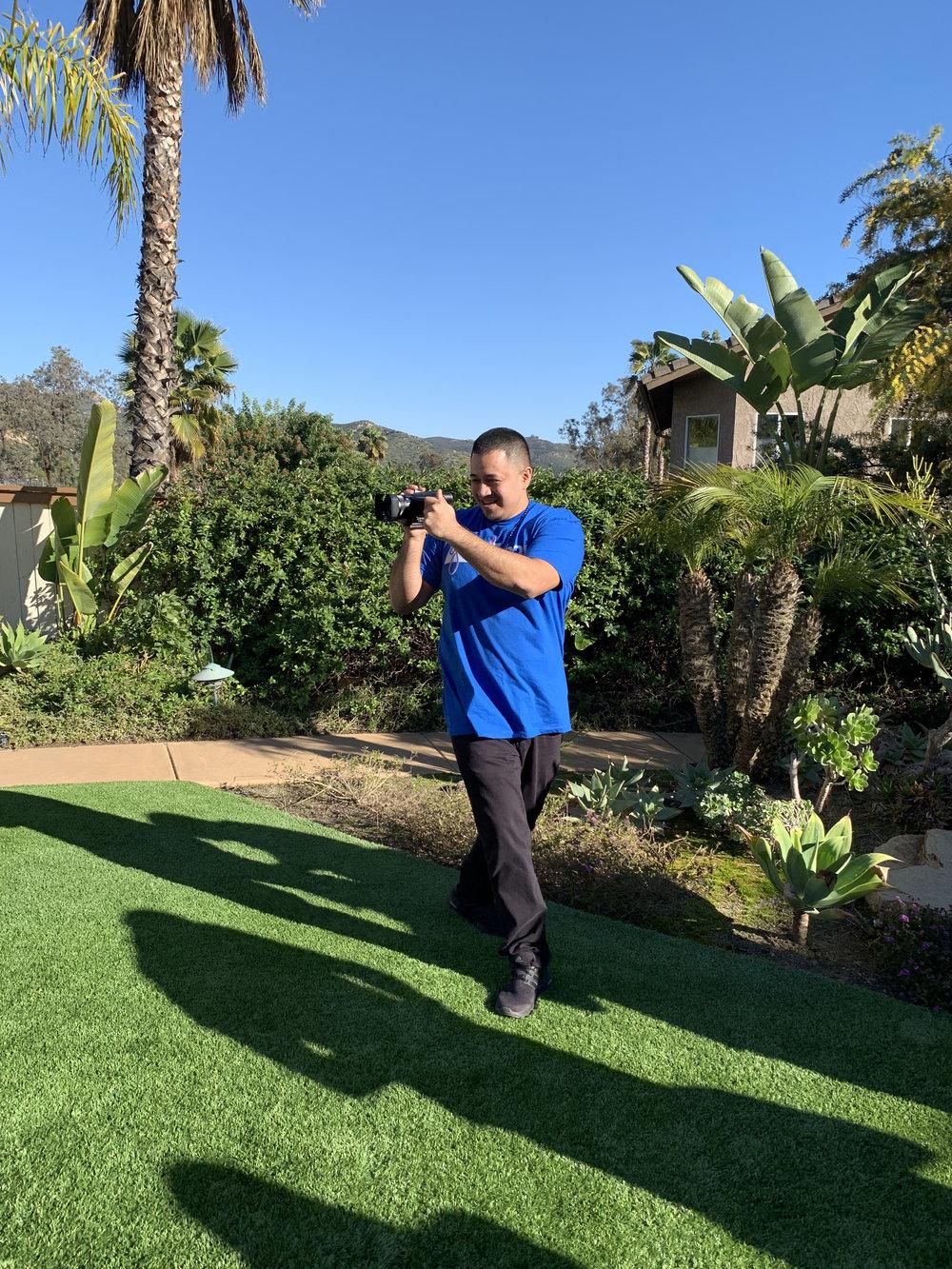 Ray Roman Filming on The Go.jpg