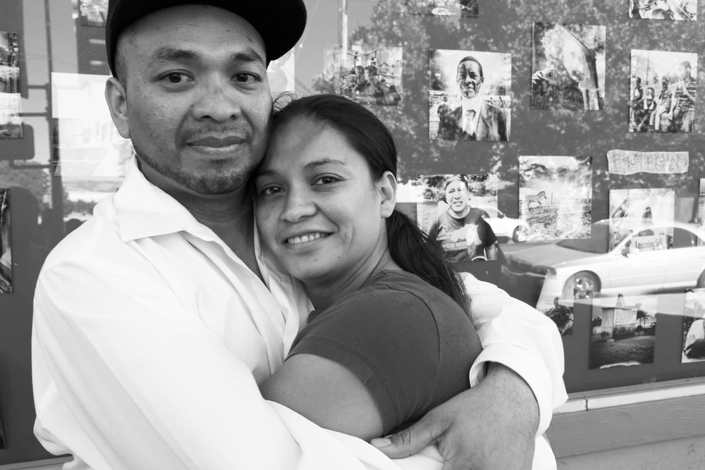"""After 10 years in prison and immigration detention, Cesar is finally home. There were many times that he felt the pressure of having to sign the 'voluntary departure' forms, because as he says, """"By signing that form, the next day you are free."""" But knowing he had his family and community waiting and fighting for him kept his spirit going. """"They're doing time too, and it's for them -- and us -- that's why I kept on fighting."""""""