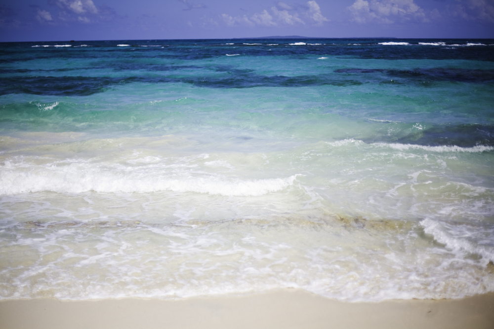 Big Corn Island waters: the Caribbean colors that people dream about.