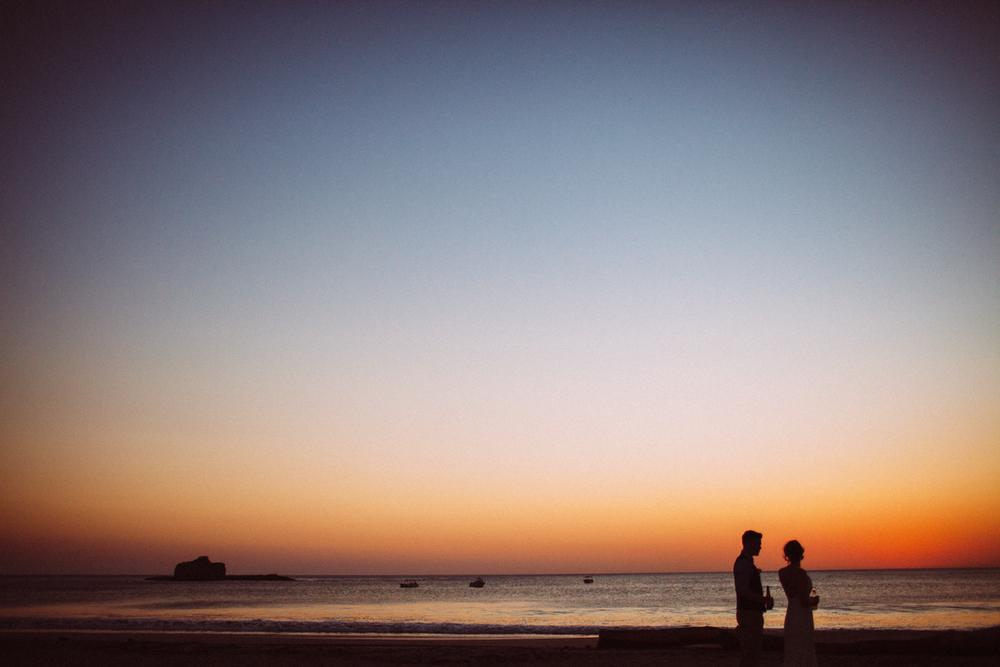 Beach wedding Nicaragua