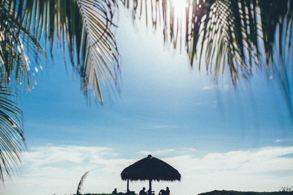 Poneloya beach Nicaragua