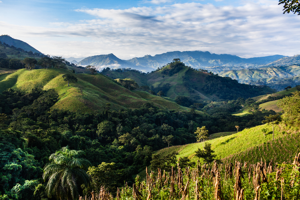 Nicaragua landscape