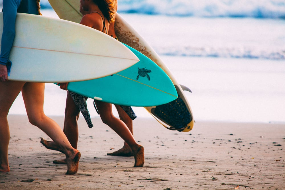 surfers nicaragua