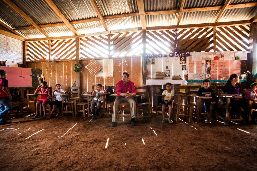 Classroom Nicaragua.