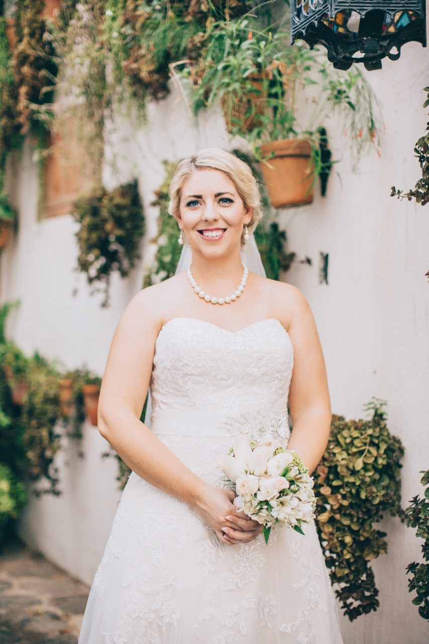 Nicaragua wedding bride