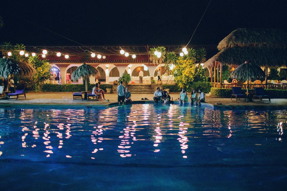 Wedding pool nicaragua