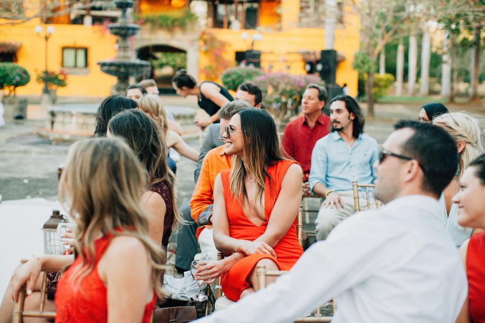 wedding guests nicaragua