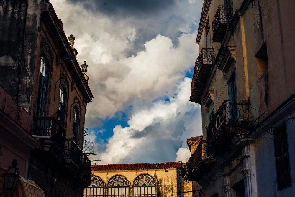 sky over Havana