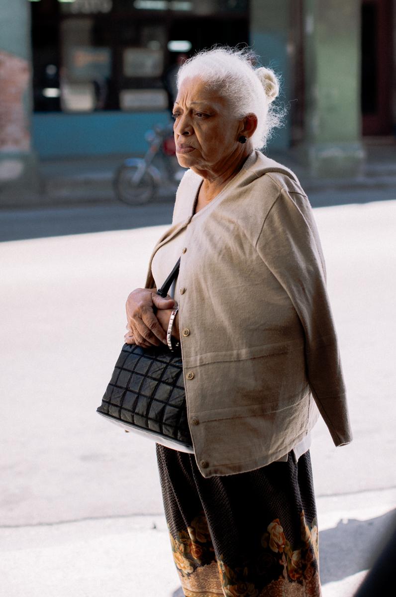Portrait woman Havana
