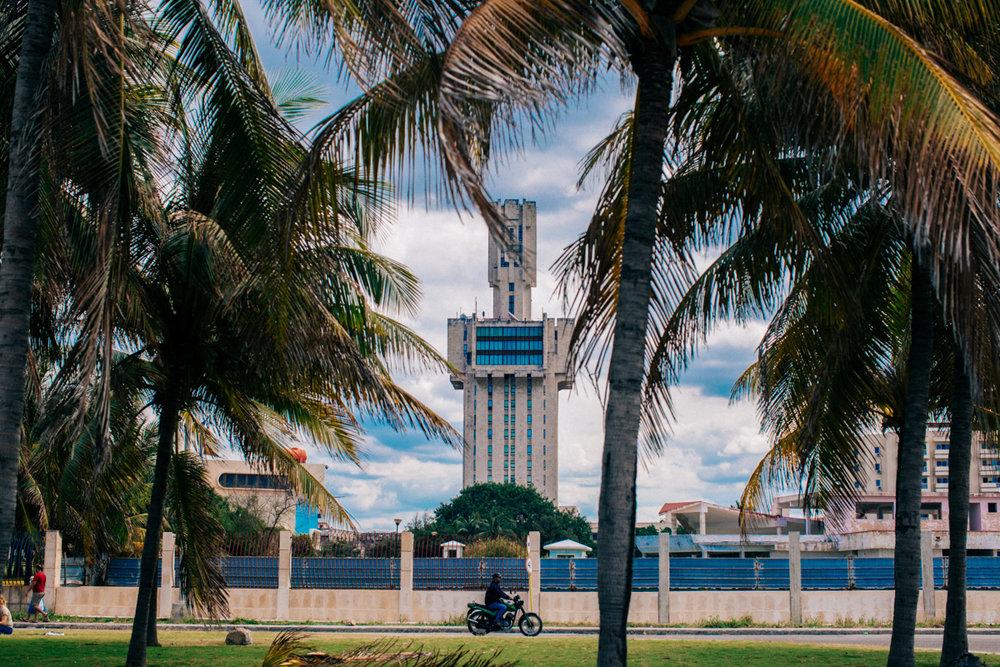 Russian Embassy Havana Brutalism