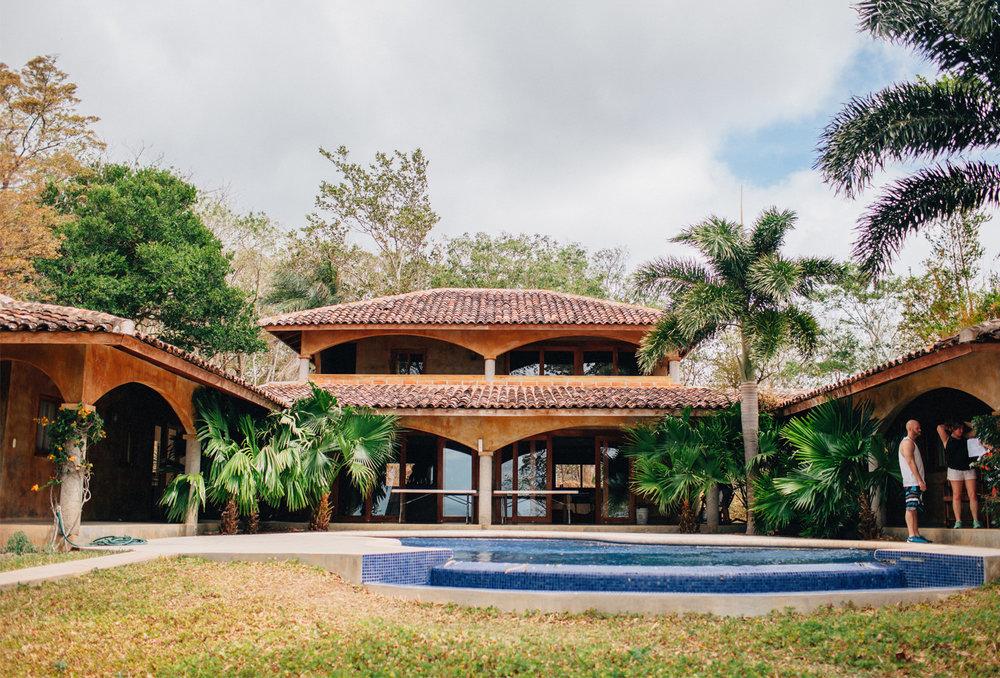 Wedding house Finca Las Nubes Nicaragua