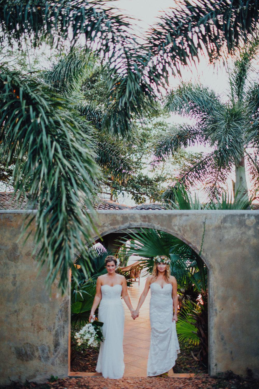 Wedding portrait photography. Nicaragua