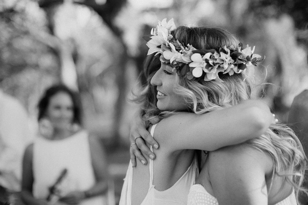 Embrace. Wedding Nicaragua
