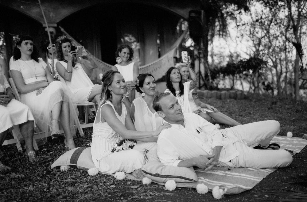 Guests wedding Nicaragua