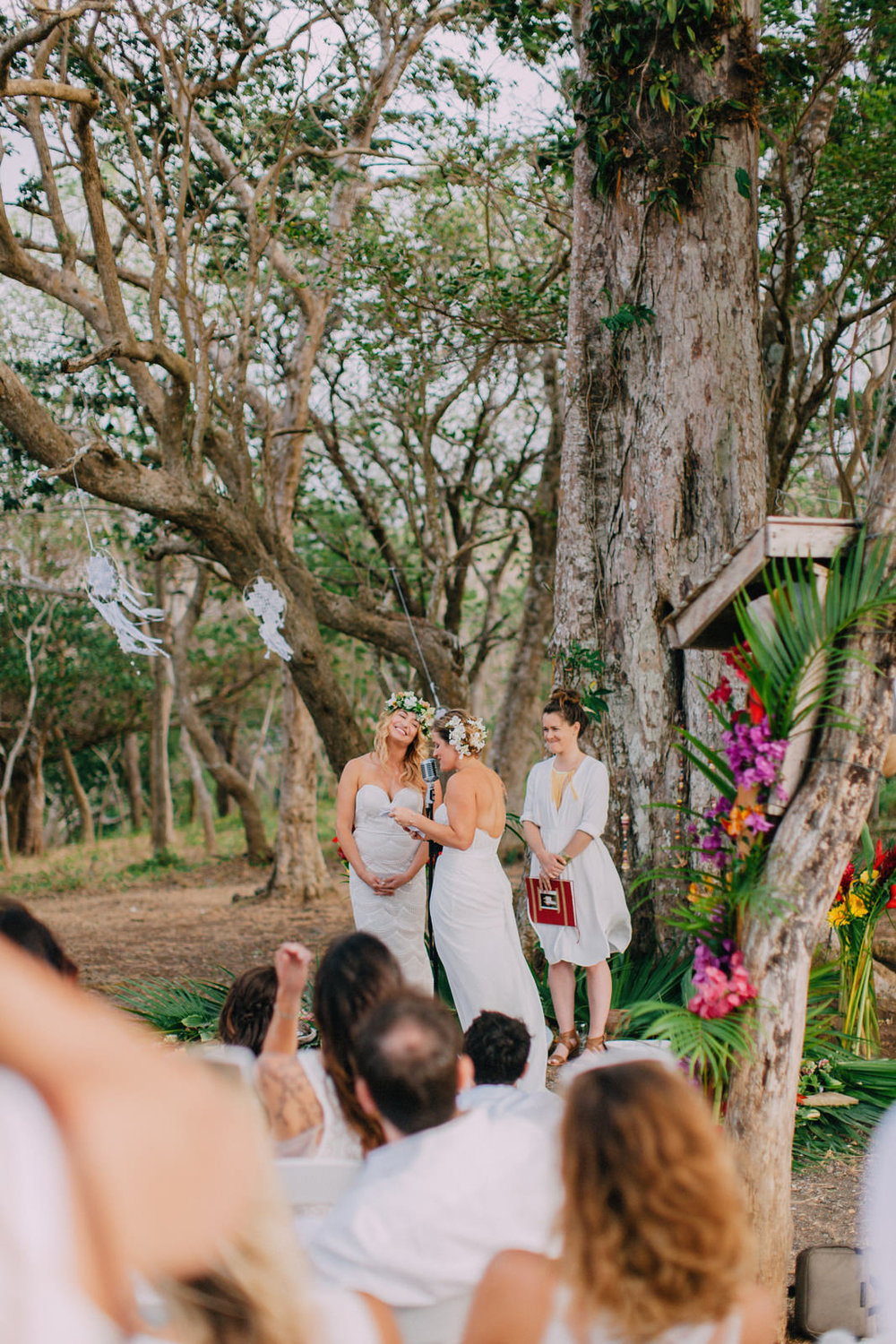 Wedding under the tree venue