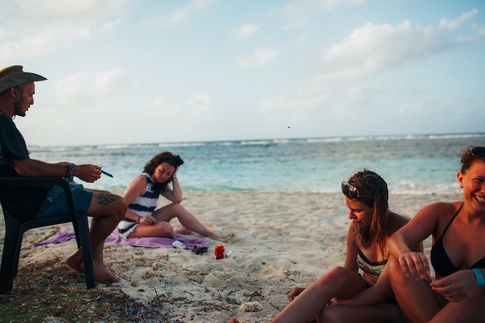 San Blas beach chill