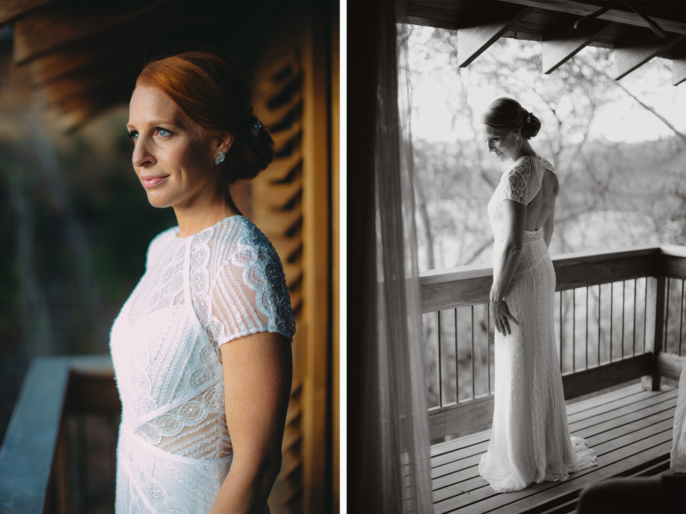 Megan, the Bride at Nicaragua destination wedding.